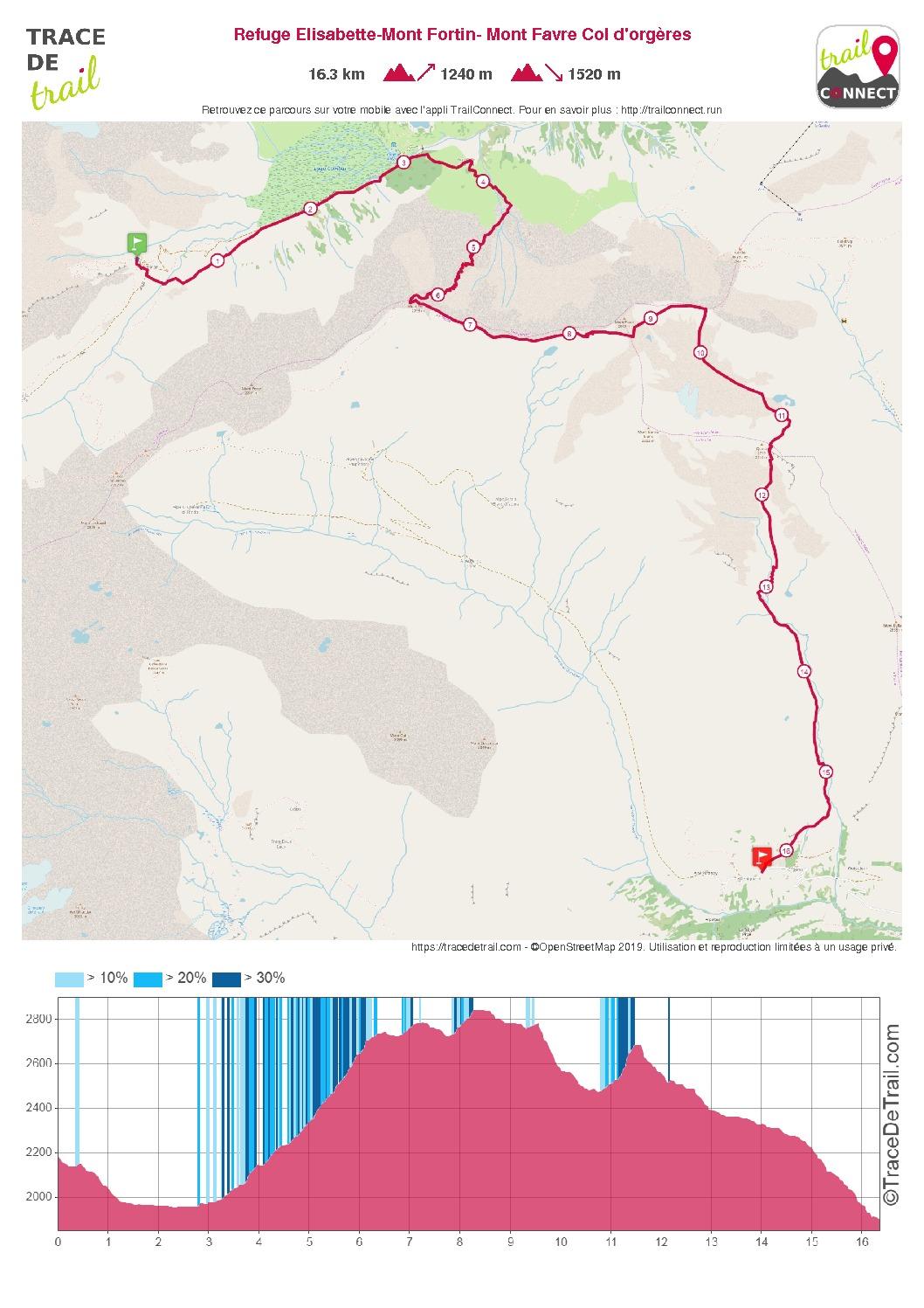 thumbnail of Refuge Elisabette-Mont Fortin- Mont Favre Col d'orgères